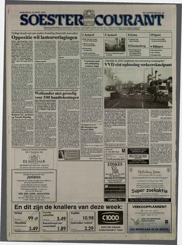 Soester Courant 2000-04-19