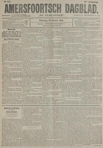 Amersfoortsch Dagblad / De Eemlander 1916-03-28