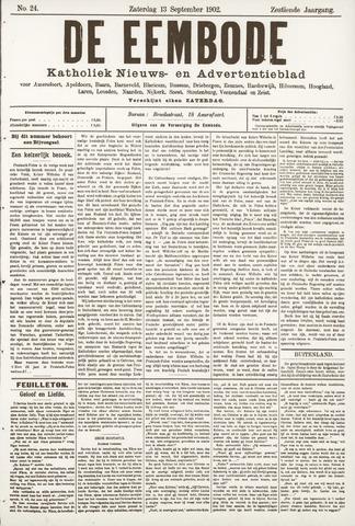 De Eembode 1902-09-13