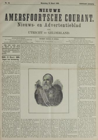Nieuwe Amersfoortsche Courant 1889-03-20