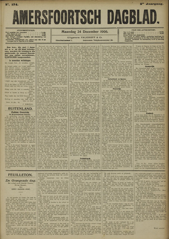 Amersfoortsch Dagblad 1906-12-24
