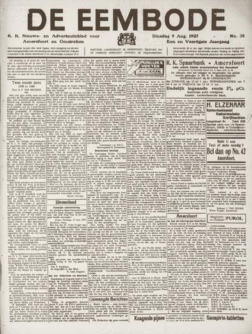 De Eembode 1927-08-09