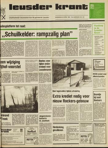 Leusder Krant 1984-04-25