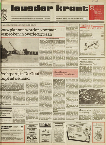 Leusder Krant 1987-01-20