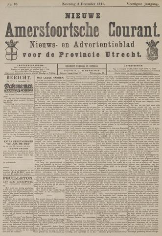 Nieuwe Amersfoortsche Courant 1911-12-09