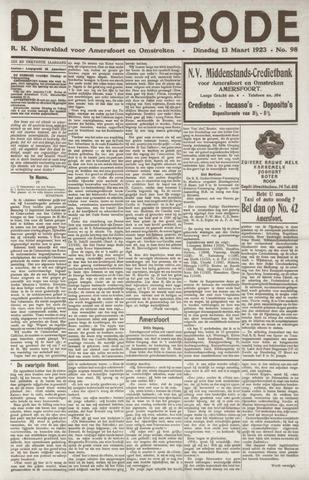 De Eembode 1923-03-13