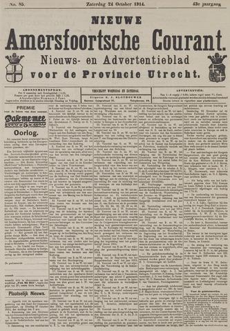 Nieuwe Amersfoortsche Courant 1914-10-24