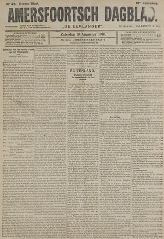 Amersfoortsch Dagblad / De Eemlander 1916-08-19