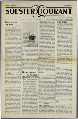 Soester Courant 1951-01-16
