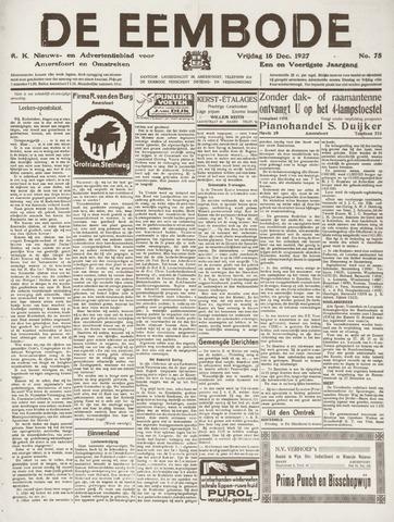 De Eembode 1927-12-16