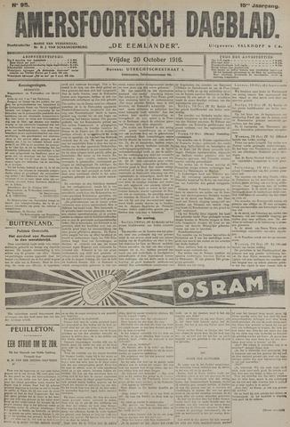 Amersfoortsch Dagblad / De Eemlander 1916-10-20