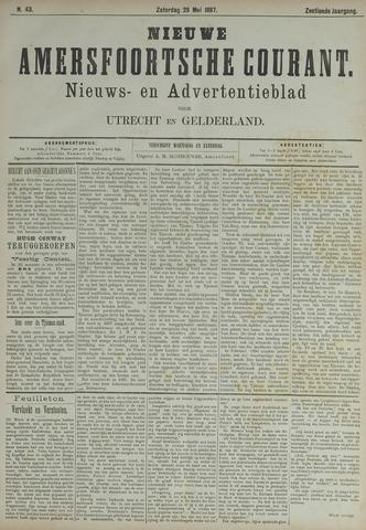 Nieuwe Amersfoortsche Courant 1887-05-28