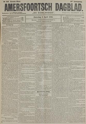 Amersfoortsch Dagblad / De Eemlander 1916-04-08