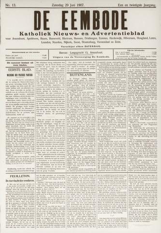De Eembode 1907-06-29