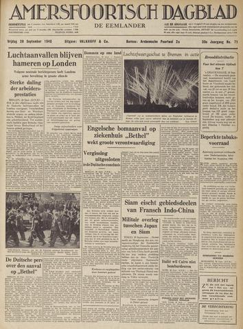 Amersfoortsch Dagblad / De Eemlander 1940-09-20