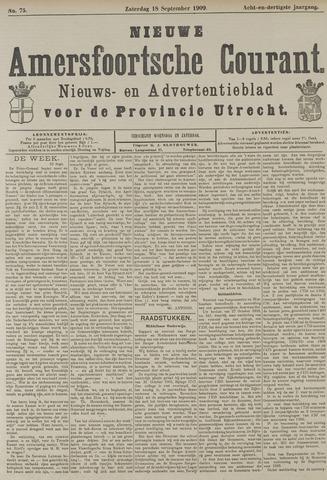 Nieuwe Amersfoortsche Courant 1909-09-18