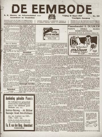 De Eembode 1927-03-18
