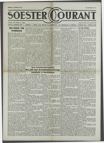 Soester Courant 1958-02-28