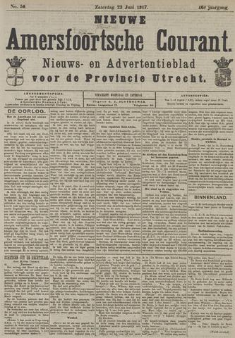 Nieuwe Amersfoortsche Courant 1917-06-23