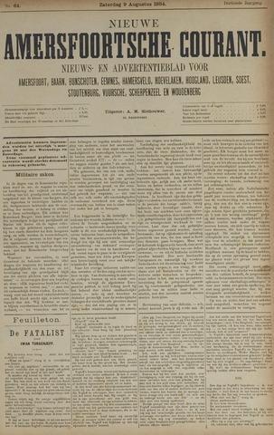 Nieuwe Amersfoortsche Courant 1884-08-09
