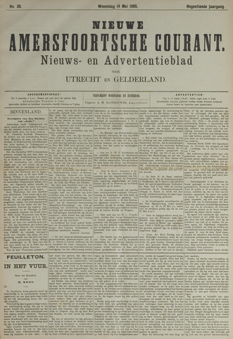 Nieuwe Amersfoortsche Courant 1890-05-14