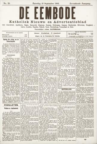 De Eembode 1903-09-19
