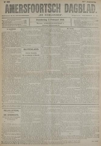 Amersfoortsch Dagblad / De Eemlander 1916-02-03