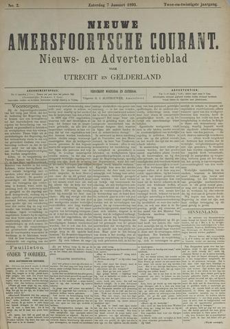 Nieuwe Amersfoortsche Courant 1893-01-07