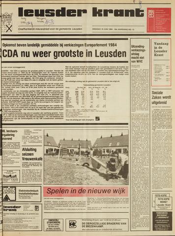 Leusder Krant 1984-06-19