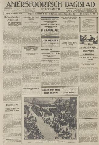 Amersfoortsch Dagblad / De Eemlander 1931-01-09