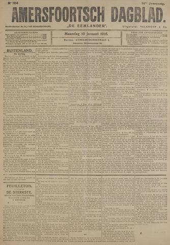 Amersfoortsch Dagblad / De Eemlander 1916-01-10