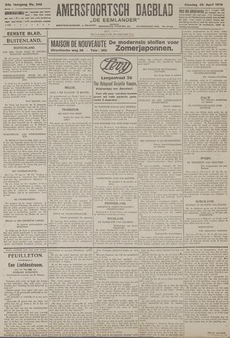 Amersfoortsch Dagblad / De Eemlander 1926-04-20