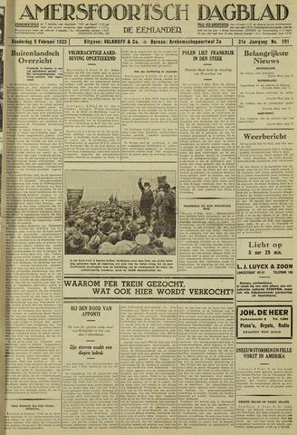 Amersfoortsch Dagblad / De Eemlander 1933-02-09