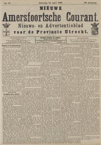 Nieuwe Amersfoortsche Courant 1920-04-24