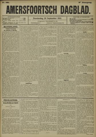 Amersfoortsch Dagblad 1910-09-29