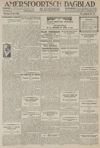 Amersfoortsch Dagblad / De Eemlander 1929-04-15