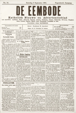 De Eembode 1905-09-09