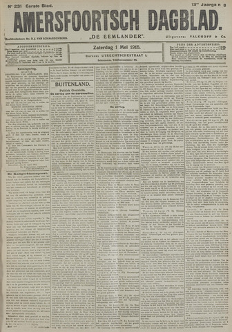 Amersfoortsch Dagblad / De Eemlander 1915-05-01