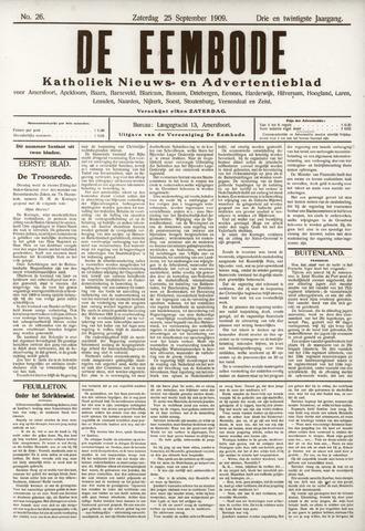 De Eembode 1909-09-25
