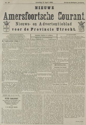 Nieuwe Amersfoortsche Courant 1908-04-11