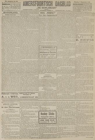 Amersfoortsch Dagblad / De Eemlander 1922-11-07