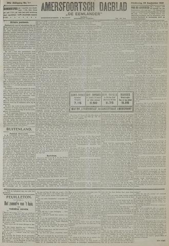 Amersfoortsch Dagblad / De Eemlander 1921-09-29