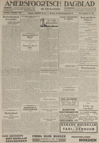 Amersfoortsch Dagblad / De Eemlander 1931-11-21
