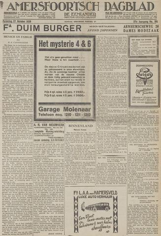 Amersfoortsch Dagblad / De Eemlander 1928-10-27