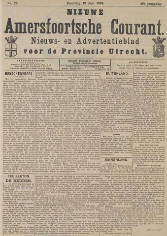 Nieuwe Amersfoortsche Courant 1920-06-12