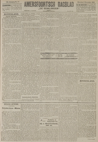 Amersfoortsch Dagblad / De Eemlander 1920-11-08