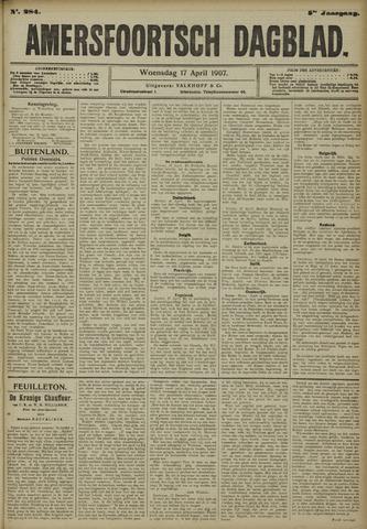 Amersfoortsch Dagblad 1907-04-17