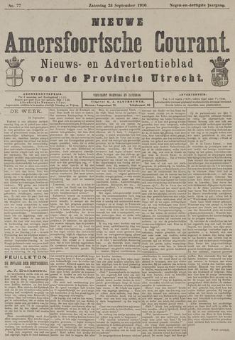 Nieuwe Amersfoortsche Courant 1910-09-24