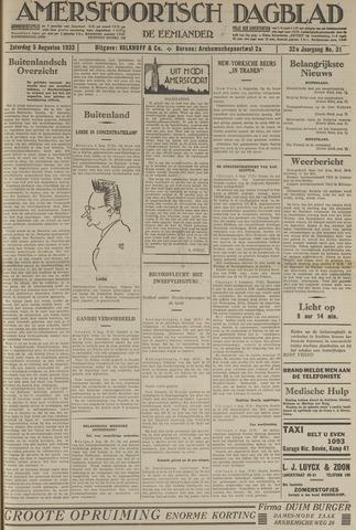 Amersfoortsch Dagblad / De Eemlander 1933-08-05
