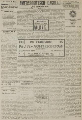 Amersfoortsch Dagblad / De Eemlander 1923-02-20